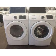 Refurbished Samsung (GAS) Front Load Washer Dryer Set Please call store if you would like additional pictures. This set carries our 6 month warranty, MANUFACTURER WARRANTY AND REBATES ARE NOT VALID (Sold only as a set)