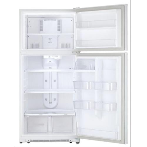 Treviño Appliance - Crosley Black Top Mount Refrigerator