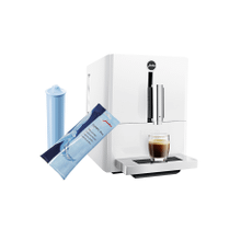 JURA A1 Automatic Coffee Machine Set with CLEARYL Blue Water Filter