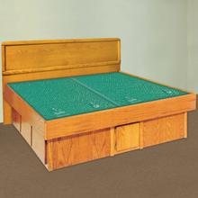 Panel Headboard Waterbed with La Jolla Casepieces Available in W. King, W. Queen and Super Single