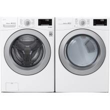 LG 4.5-cu ft High Efficiency Stackable Front-Load Washer & 7.4-cu ft Stackable Electric Dryer Set