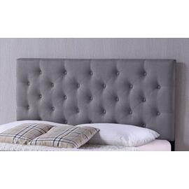 Viv Upholstered Gray Headboard - Queen