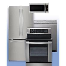 LG - Save 10% with a LG PrePaid VISA Card when you purchase eligible LG Kitchen Appliances. See 4-Pc