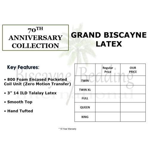 Biscayne Bedding - 70th Anniversary
