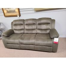 See Details - CLEARANCE Rodman Olive Brown Reclining Sofa