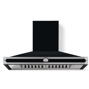 Lacornue Cornufe - Gloss Black Cornufe 110 Hood with Satin Chrome Accents