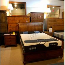 Liberty Furniture- Queen Bed, Dresser, Mirror, Chest, and Nightstand