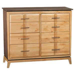 """Whittier Wood Furniture - Addison 50""""W Dresser"""