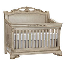 WESSEX 4-IN-1 LIFETIME CRIB Seashell Finish