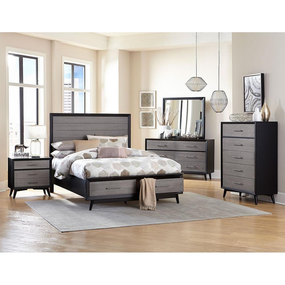 See Details - Raku 4Pc Cal King Bed Set