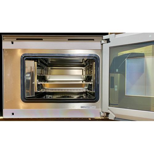 """Gagganau  BS470610   400 series Combi-steam oven BS 470 610 Stainless steel-backed full glass door Right-hinged Controls at the top Width 24"""" (60 cm)"""