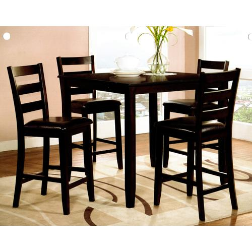 Luca Counter Height Dining - Table and 4 stools