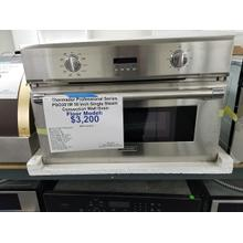 "Thermador Professional Series 30"" Single Steam Convection Wall Oven PSO301M (FLOOR MODEL)"