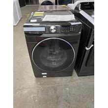 4.5 cu. ft. Smart Front Load Washer with Super Speed in Black Stainless Steel **ANKENY LOCATION** 1 YEAR WARRANTY