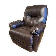 See Details - BRINLEY2 Leather Recliner #220829