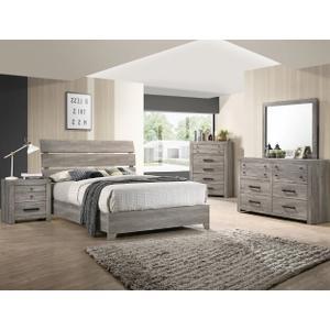 Crown Mark B5520 Tundra Queen Bedroom