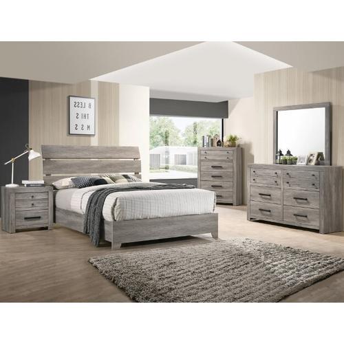 Crown Mark B5520 Tundra King Bedroom