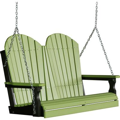 Adirondack Swing 4' Lime Green and Black