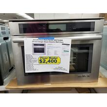 "JennAir Euro-Style Series 24"" Single Steam Electric Wall Oven JBS7524BS (FLOOR MODEL)"