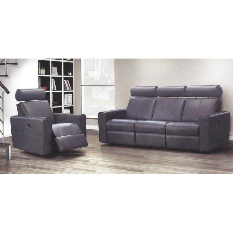 Elran's Tatyana Reclining Sofa, Reclining Chair and Reclining Loveseat