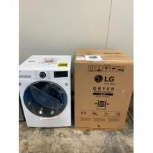 4.5 cu.ft. Smart wi-fi Enabled Front Load Washer with & 7.4 cu.ft. Smart wi-fi Enabled Electric Dryer **CLEARANCE SET** West Des Moines Location
