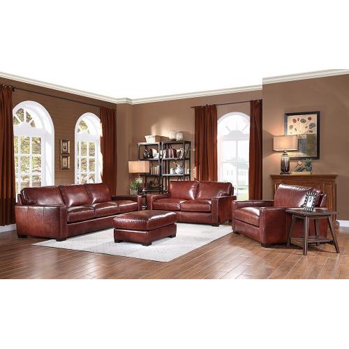 Leather Italia USA - 7228 Randall Sofa Chestnut