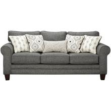GC1140  Sofa, Loveseat, Chair, Chair 1/2 and Ottoman - Grande Charcoal