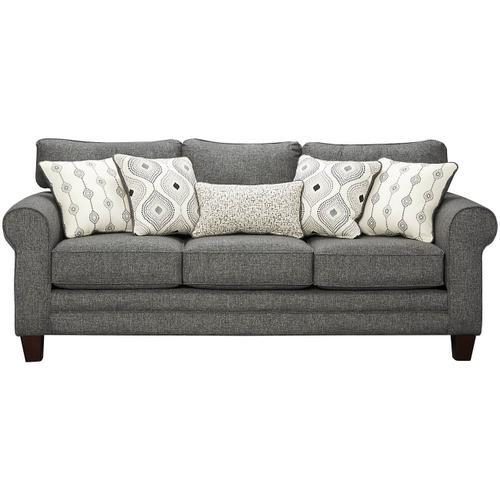 GC1140  Sofa, Loveseat, Chair, Chair 1/2 and Ottoman - Grande Charcoal