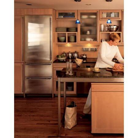 """27"""" Integrated Tall Upright All Freezer with 2 Freezer Drawers No Ice Maker Requires Custom Panel"""