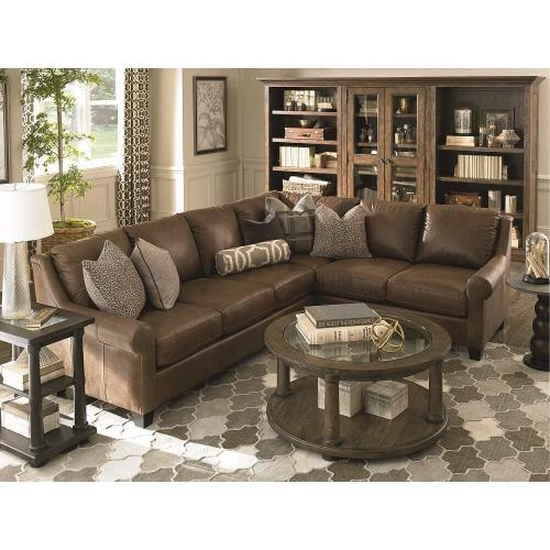 L Leather Sectional Group
