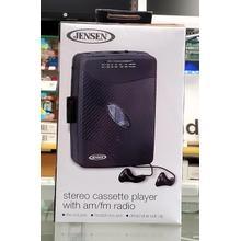 Stereo Cassette Player w/ AM/FM Radio