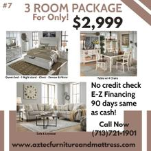 3 Room Furniture Package