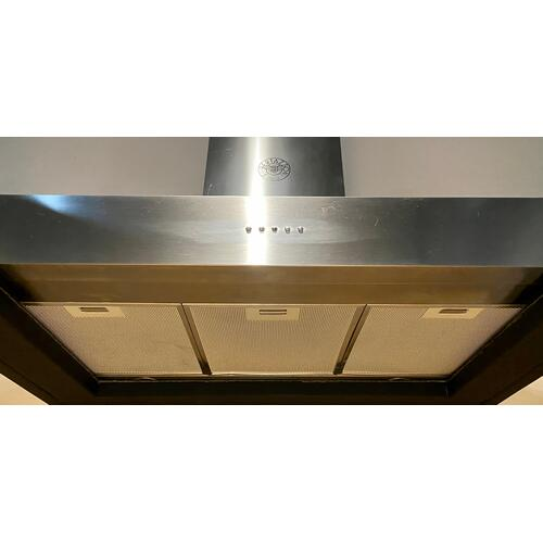 Product Image - Bertazonni K36CONX14    36 Wallmount Hood, 1 motor 600 CFM Stainless Steel