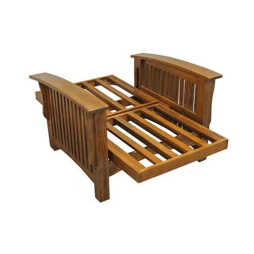 "Gold Bond Futons - Manhattan Futon Frame - 28"" Chair with ottoman"