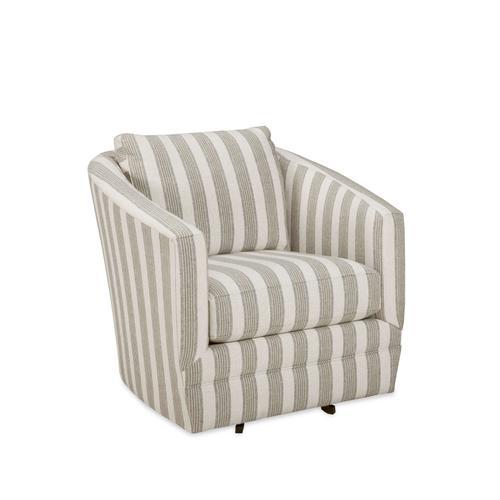 Swivel Chair in Landmark Fabric