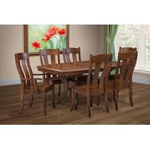 Fort Knox Amish Custom Dining Set with Hidden Compartment!
