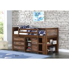 "Artesian Low Loft Bed w"" Storage #1"