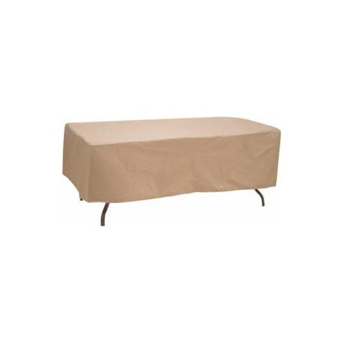 """Oval/Rectangle Table Cover, Fits 80"""" - 84"""""""