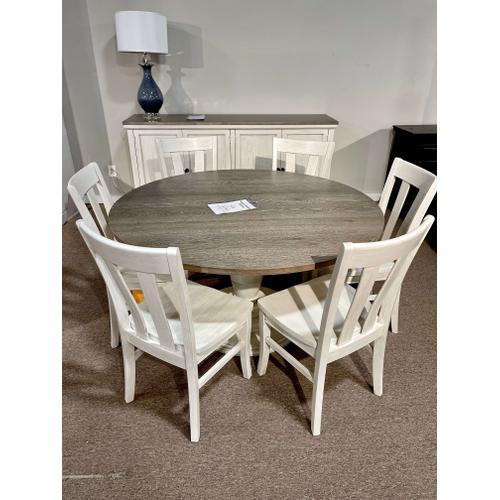Bassett Furniture - Pedestal Table & 6 Chairs