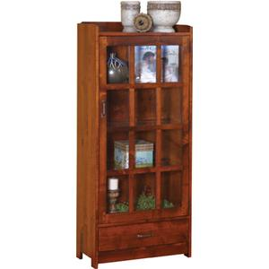 1 Door, 1 Drawer Bookcase