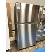 21 cu. ft. Top Freezer Refrigerator with FlexZone™ in Stainless Steel **OPEN BOX ITEM** West Des Moines Location