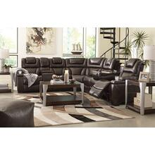 COMING SOON!!! WARNERTON POWER RECLINING SECTIONAL WITH ADJUSTABLE HEADRESTS
