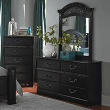 See Details - CAPPUCCINO MARBLE DRESSER