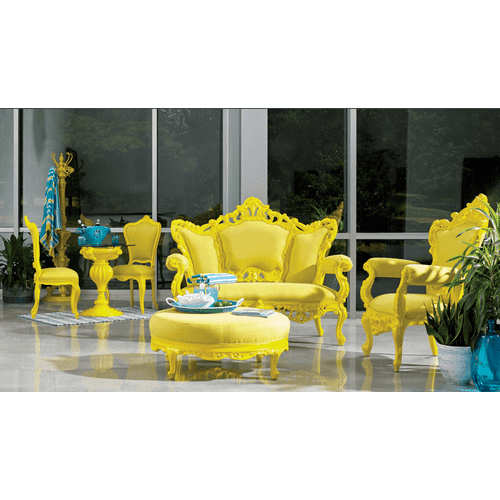 Soleil Yellow Chest