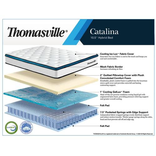 Catalina Hybrid  10.5 Mattress