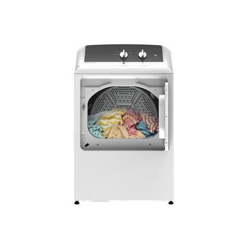 GE Appliances - GE® 6.2 cu. ft. Capacity aluminized alloy drum Gas Dryer