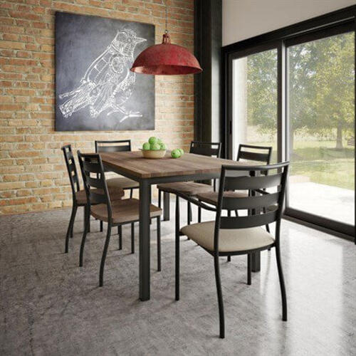 Ricard Table Base (Wood Top)