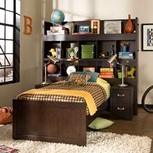 Youth Twin Bookcase Bed
