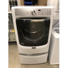 See Details - Used Maytag Maxima Electric Dryer with Pedestal