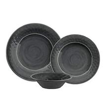 See Details - Potters Reactive Salad Plate Gray Heavy Mold